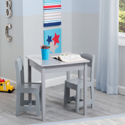 Delta MySize Grey Table and Chair Set
