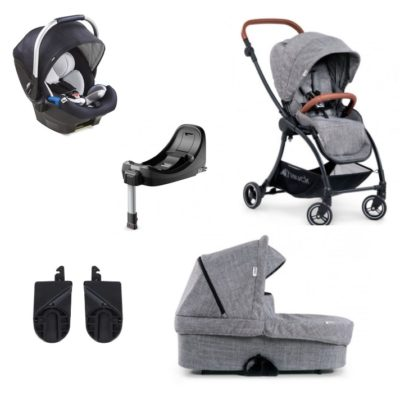 hauck eagle 4s travel system grey