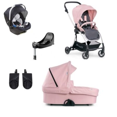 hauck eagle 4s travel system pink
