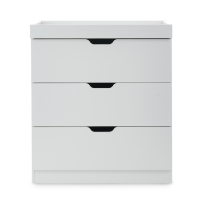Ickle Bubba White Coleby Chest of Drawers and Changer