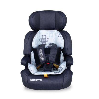 Cosatto Zoomi Group 123 Carseat - Silver Robot