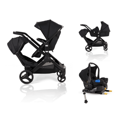 Kids Kargo Glider Travel System Black