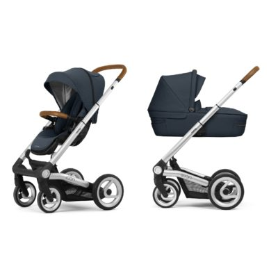 Mutsy Icon Travel System Builder - Leisure River/Silver