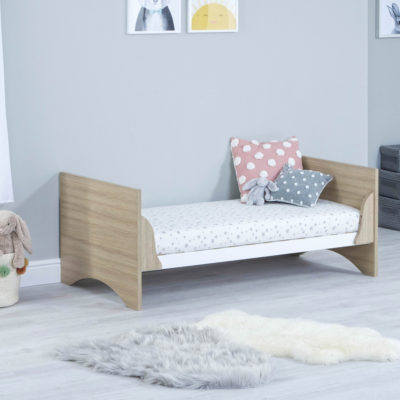 babymore veni junior bed no drawer oak