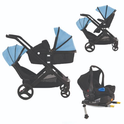 Kids Kargo Glider Travel System Blue