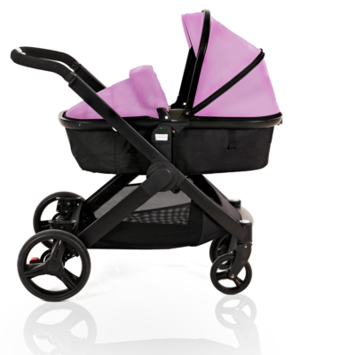 Kids Kargo Pink Glider Single Pushchair