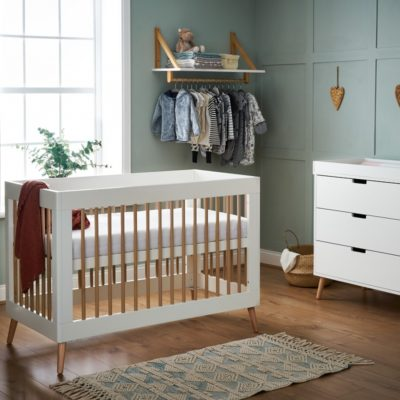 obaby maya mini 2 piece nursery room set