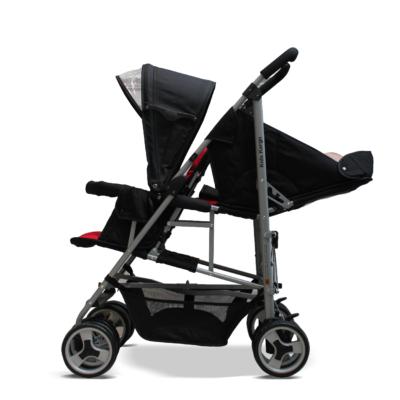 Kids Kargo Black Duo Stroller