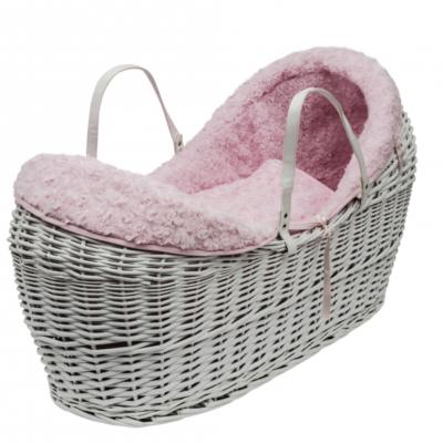 Kindervalley Pink Rose Swirl White Pod