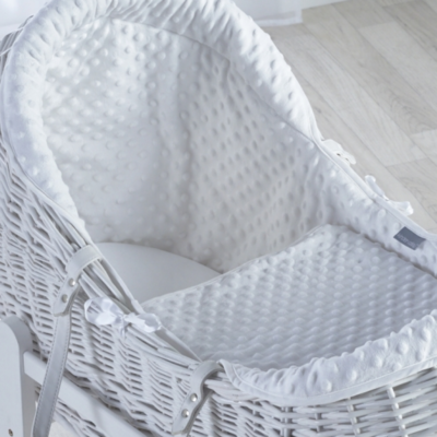 Kindervalley White Wicker Pod Dimple White