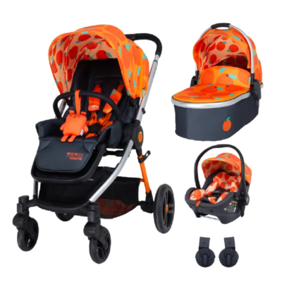 Cosatto Wowee So Orangey Premium Travel System Bundle