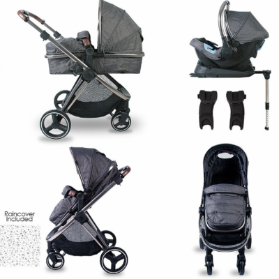 Red Kite Push Me Pace Icon Travel System With Isofix Base