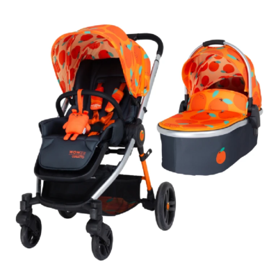 Cosatto So Orangey Wowee Pushchair and Carrycot