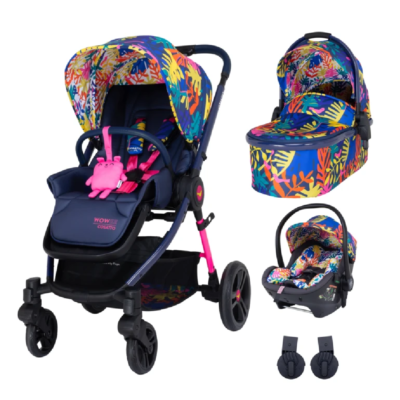Cosatto Wowee Club Tropicana Premium Travel System Bundle