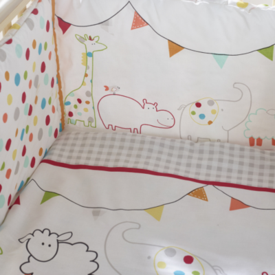 Kindervalley Animal Journey Quilt and Bumper