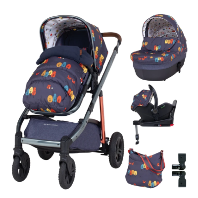 Cosatto Wow Continental Parc I-Size Everything Bundle