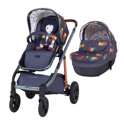 Cosatto Wow Continental Parc with Carrycot