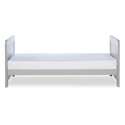 ickle bubba cot bed ash grey junior bed 2