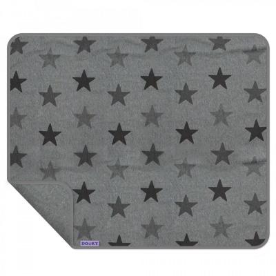 Dooky Grey Star Blanket