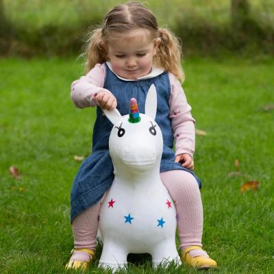 Happy Hopper White Unicorn