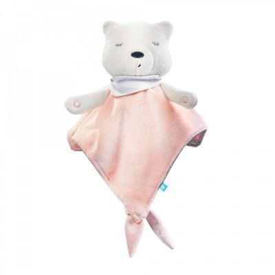 myCuddly Pink Sleep Aid with Sleep Sensor and Bluetooth