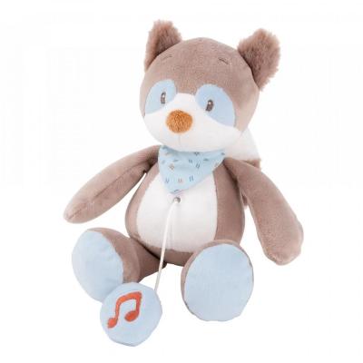 Nattou Bob the Raccoon Mini Musical Toy