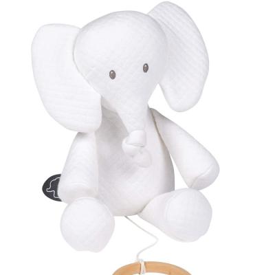 Nattou White Tembo Musical Elephant