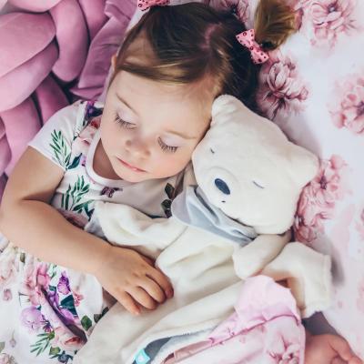 myCuddly Ecru Sleep Aid with Sleep Sensor