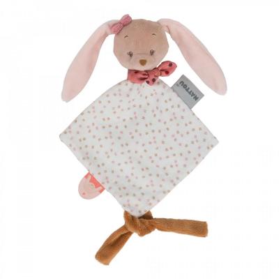 Nattou Mini Doudou Pauline the Bunny