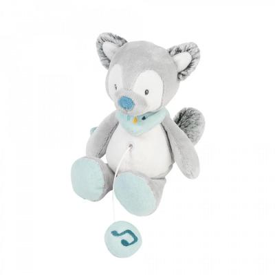 Nattou Tiloo the Wolf Mini Musical Toy