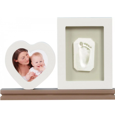 Happy Hands Desktop Heart Print Frame Kit