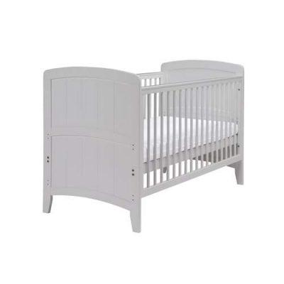 east coast venice cot bed in grey