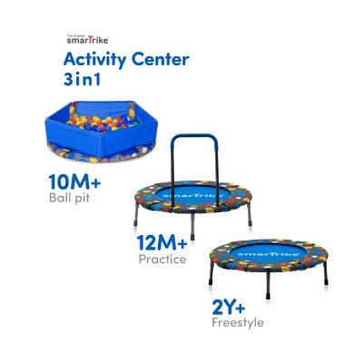 SmarTrike Activity Center 3in1 Trampoline