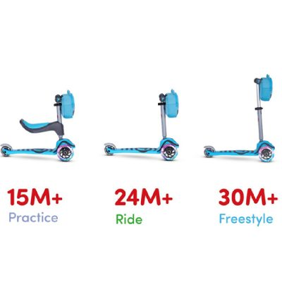 SmarTrike Blue T1 Toddler Scooter