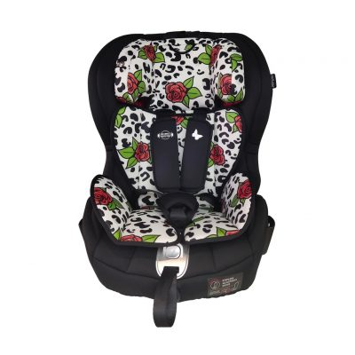 My Babiie Katie Piper Group 1/2/3 Isofix Car Seat - Rose Leopard