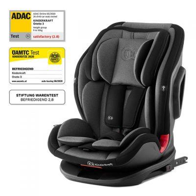 Kinderkraft Jet Black OneTo3 2021 Isofix Car Seat