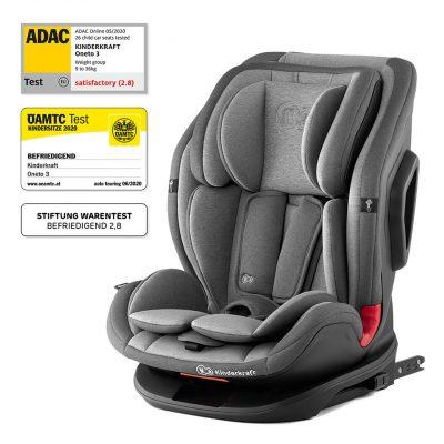 Kinderkraft Rocket Grey OneTo3 2021 Isofix Car Seat