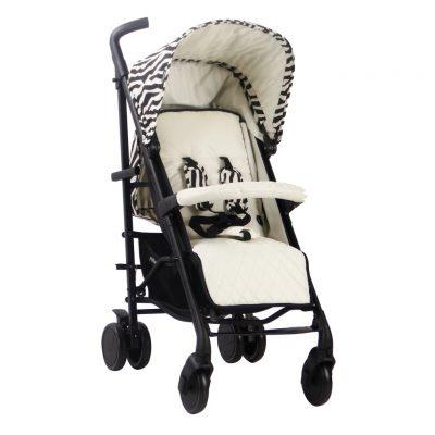 "My Babiie Nicole ""Snooki"" Polizzi Lightweight Stroller - Zebra"