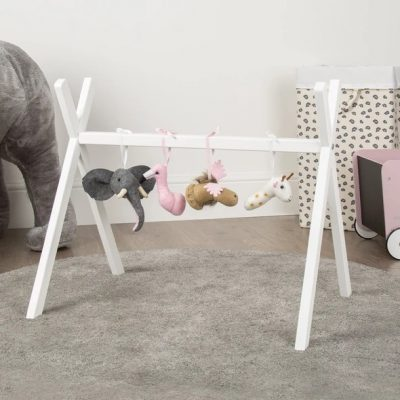 Childhome Tipi Play Gym Frame White