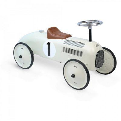 Vilac Off White Metal Car