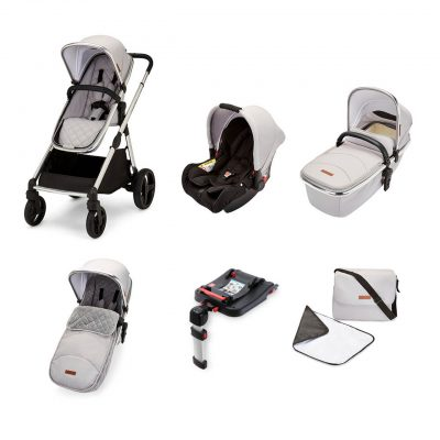 ickle-bubba-eclipse-travel-system-silver-grey-black-handle-1