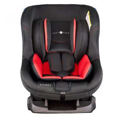 Cozy N Safe Black/Red Fitzroy Car Seat