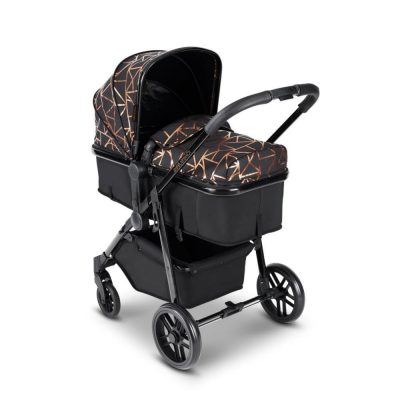Ickle Bubba Black/Copper Moon 2 In 1 Pushchair