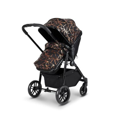 Ickle Bubba Black Copper Moon 2 In 1 Pushchair