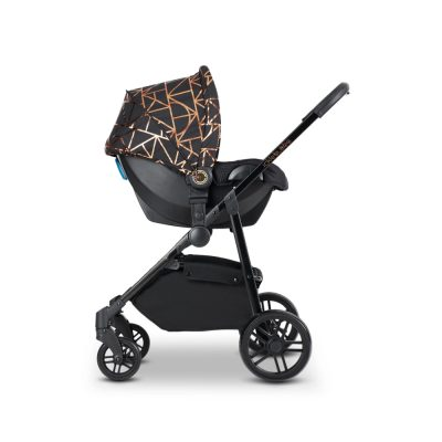 Moon 3-In-1 Copper/Black Travel System With Astral Car Seat