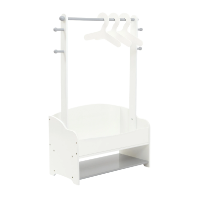 Liberty House Toys Hanging Rail with Extra Storage