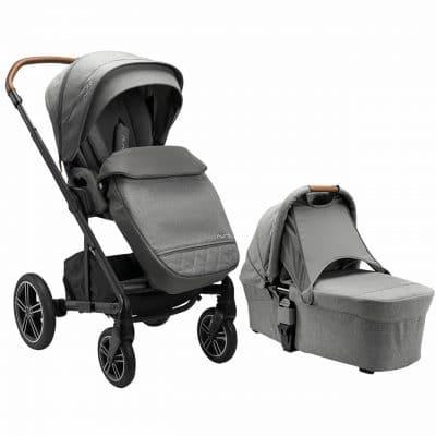 Nuna Mixx Next Pushchair and Carrycot Granite