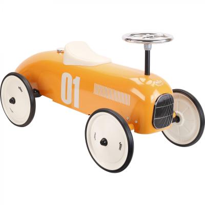 Vilac Orange Classic Racing Ride-on Car