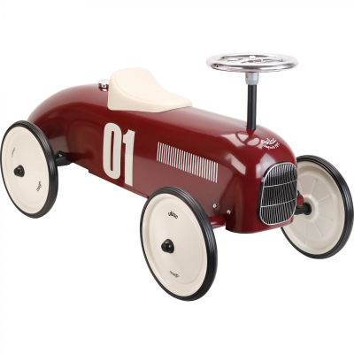 Vilac Burgundy Classic Racing Ride-on Car