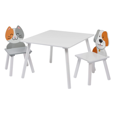 Liberty House Toys Cat and Dog Table and Chairs